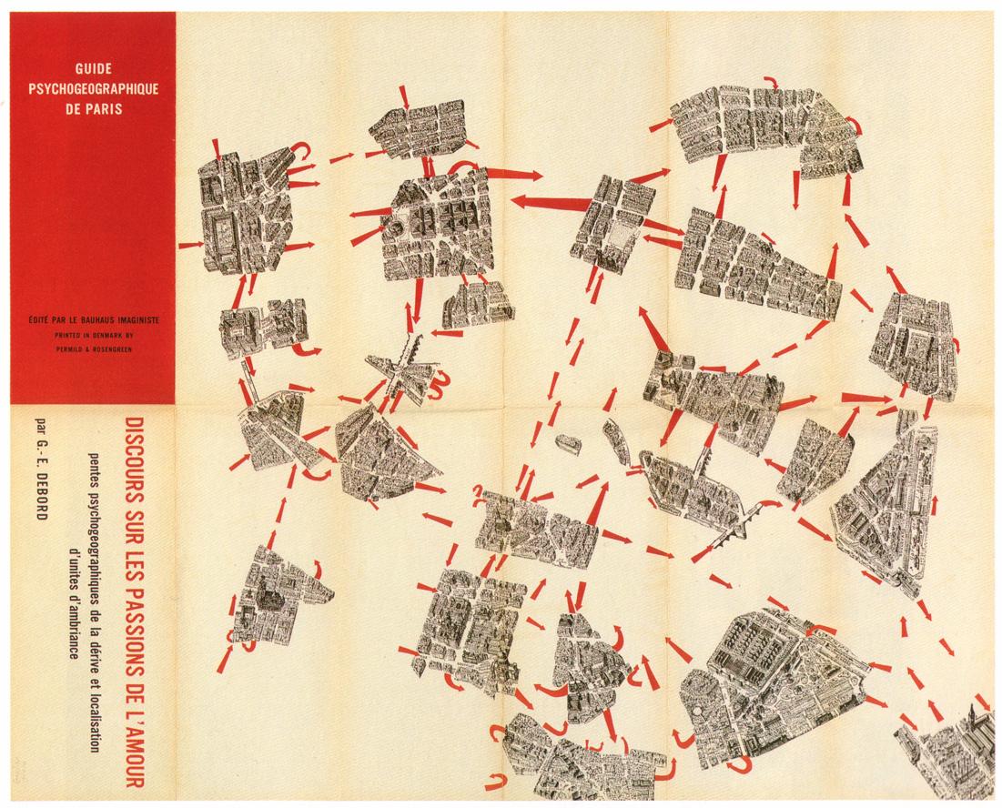Derive : Psychogeographic Guide of Paris